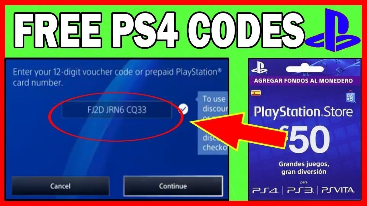 Free Ps4 Gift Card Codes That Work