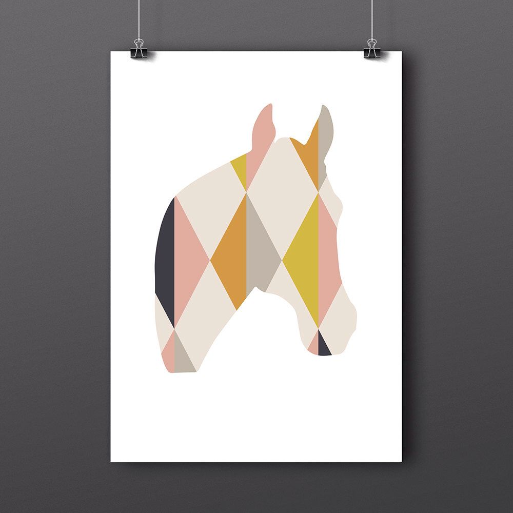 Horse Gicleé Art Print by LOCALlure on Etsy https://www.etsy.com/listing/214631710/horse-giclee-art-print