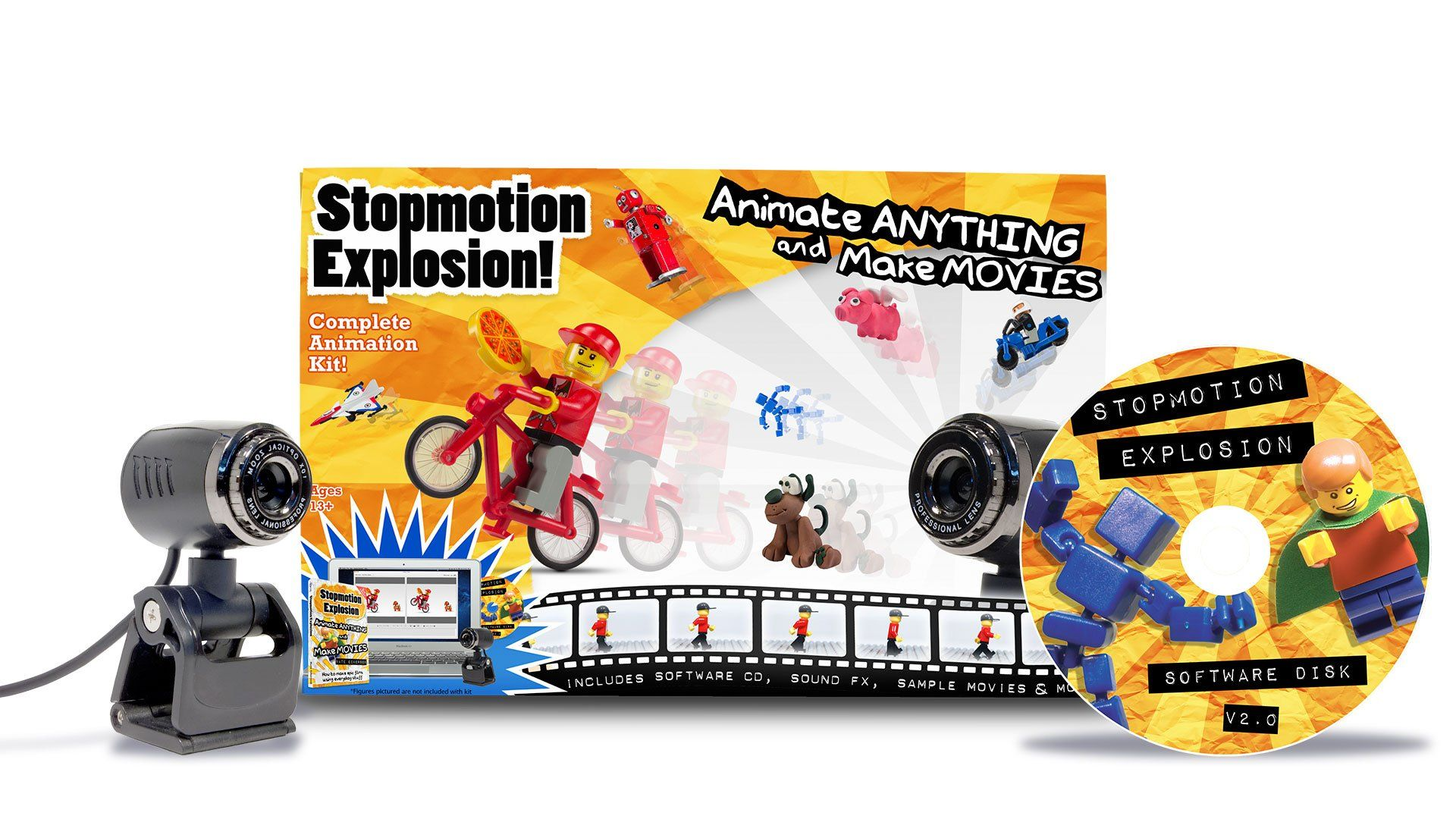 Stopmotion Explosion Complete Stop Motion Animation Kit