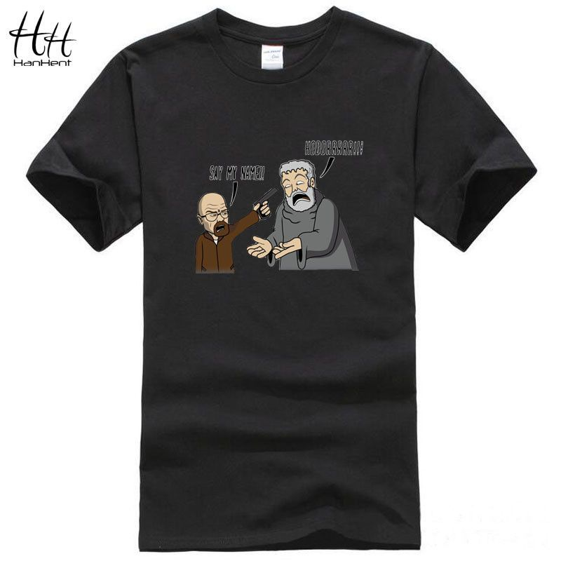 571f2dff3b HanHent Game of Thrones Breaking Bad T Shirts Men Hodor funny Man T-Shirts  Cotton O Neck casual tshirt US Size Gym Tops TA0411
