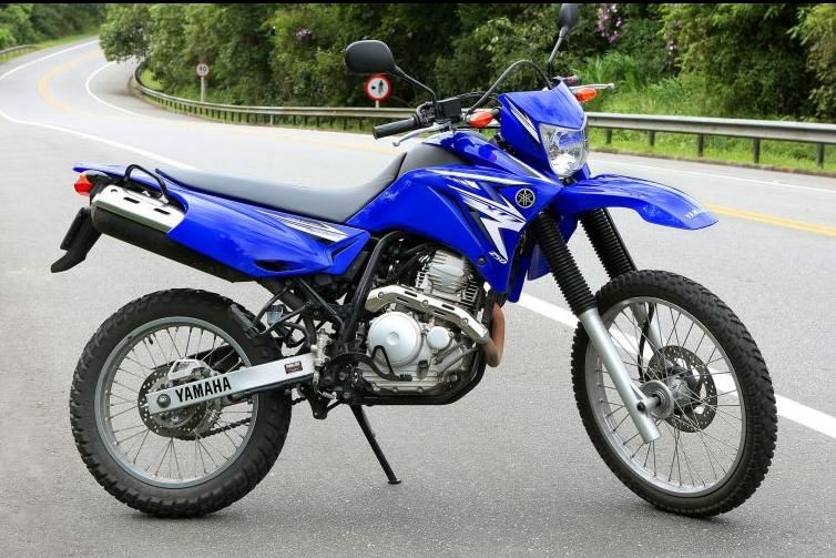 moto yamaha lander