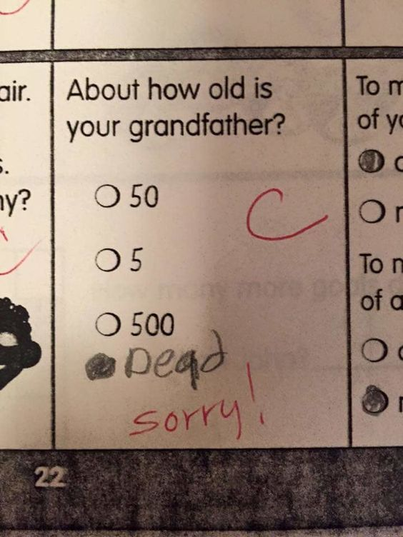 New Funny Test Answers Funniest Kid Test Answers Will Make You Laugh (50 Images) - Funniest Kid Test Answers Will Make You Laugh (50 Images) 5