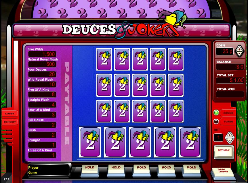 Slot Video Poker