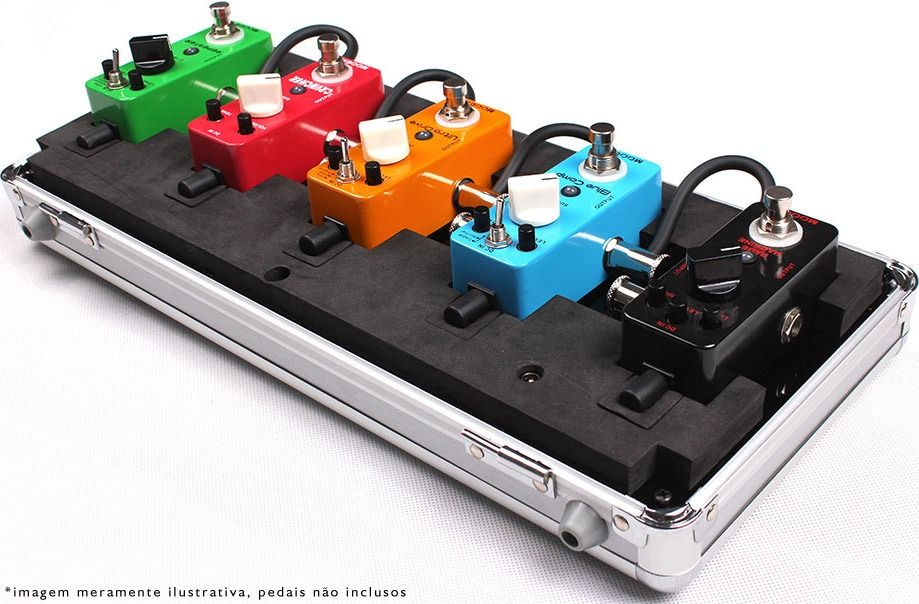 mooer mini pedals with case pedal board pinterest minis and cases. Black Bedroom Furniture Sets. Home Design Ideas