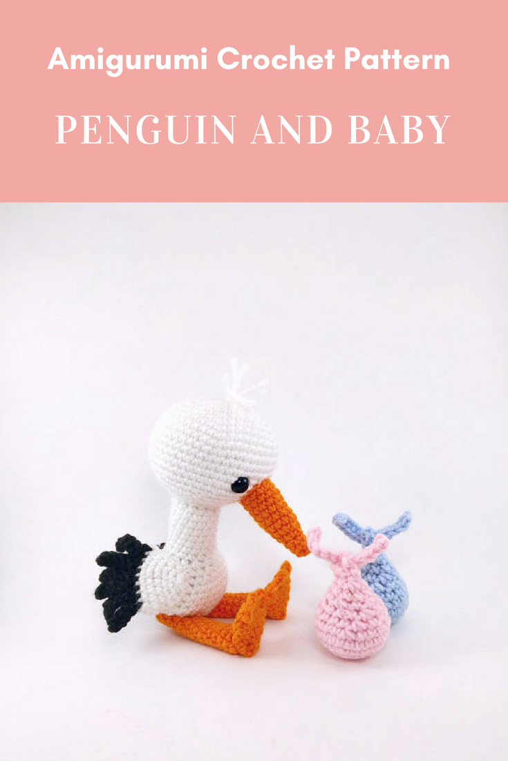 PATTERN: Solly the Stork - Crochet stork pattern - amigurumi stork ...