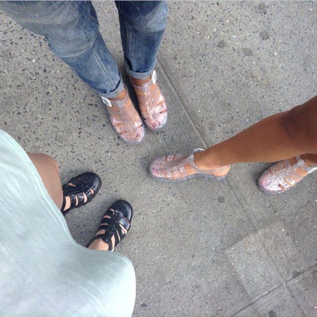 american apparel jelly shoes - Buscar con Google