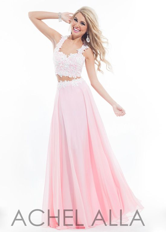 Collection Pink White Prom Dresses Pictures - Reikian