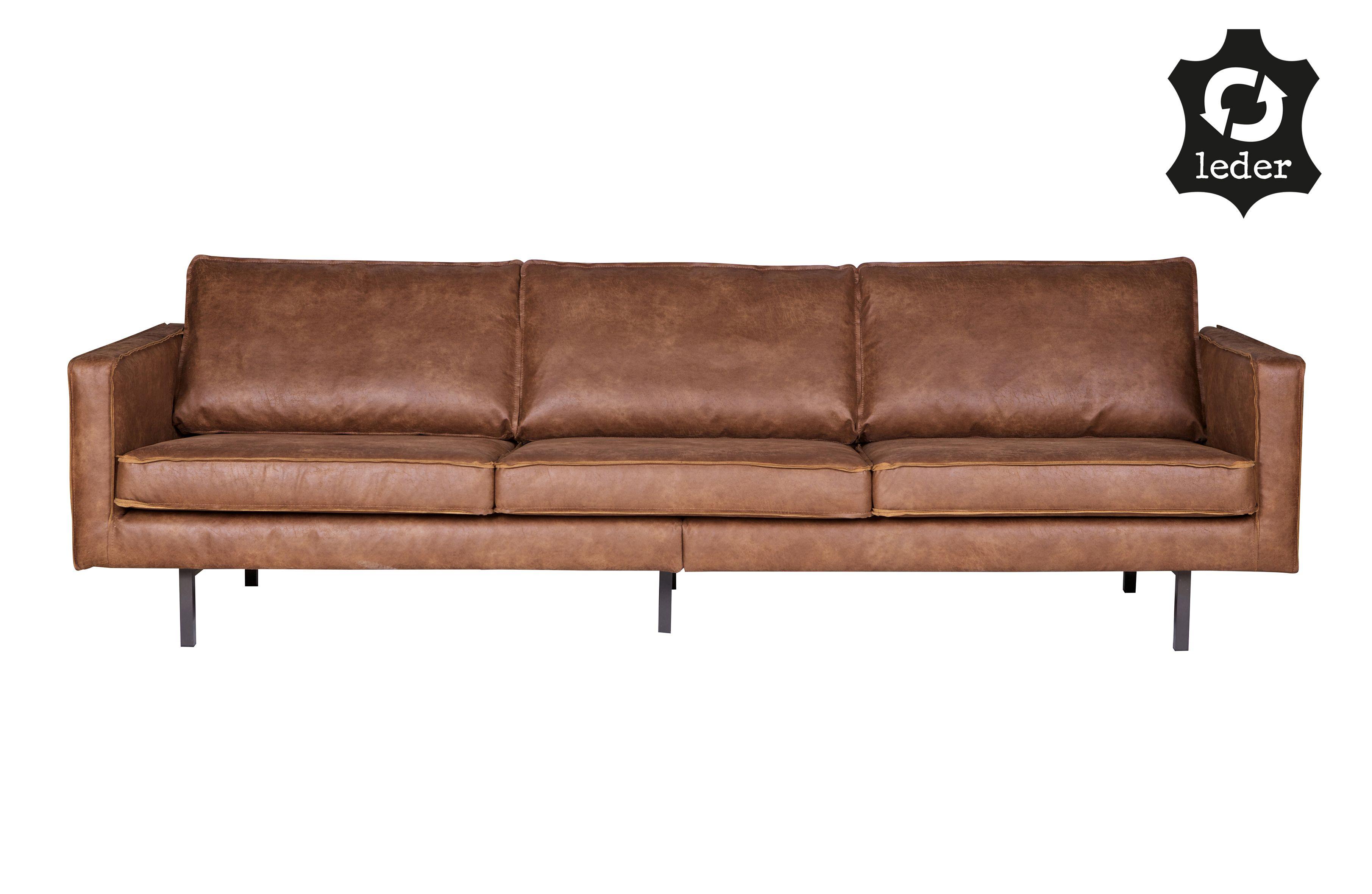 Rodeo sofa 3 seater cognac | Sofas | Wohnzimmer | BEPUREHOME