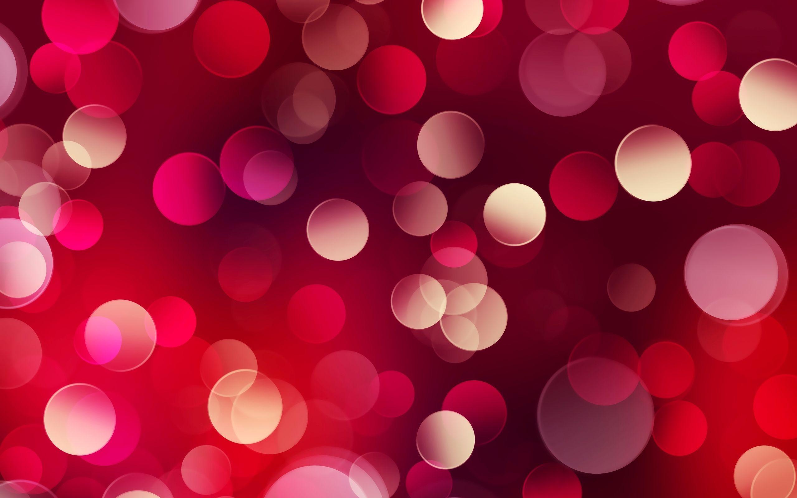 Red Light Bokeh Wallpapers 2560x1600 832753 Abstrakte Tapete
