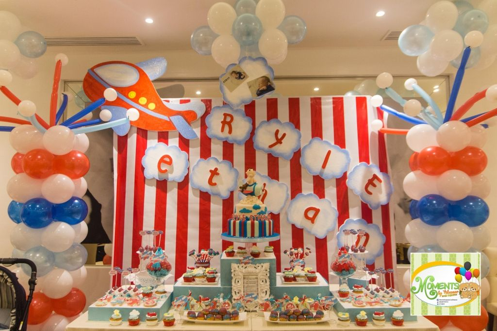 Airplane Themed Party Decorations Airplane Theme Party