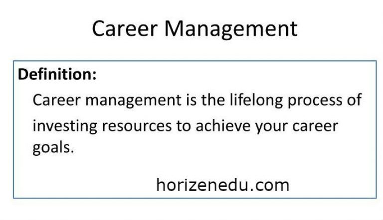 Career Management Definition Process Benefits Accounting