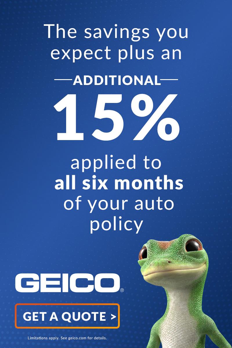 Extra Savings With GEICO