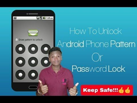 How To Unlock Pattern Lock On Android Without Lose Data