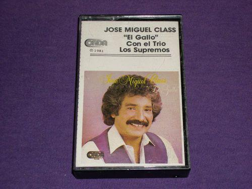 Josie Miguel Class - El Gallo - Con el Trio Los Supremos - Rare Cassette Tape