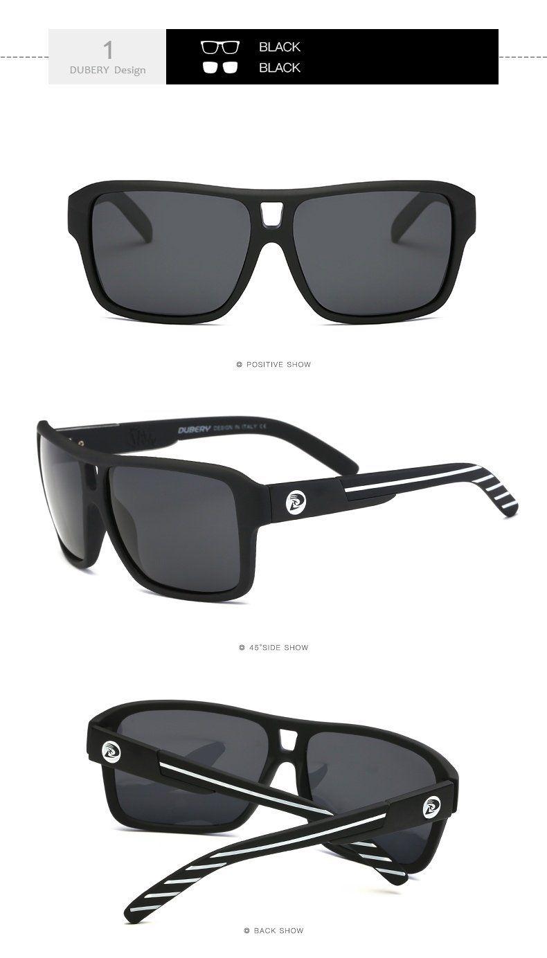 18a5932fdd5 DUBERY Polarized Sunglasses Men s Aviation Driver Shades Male Sun Glasses  For Men Original 2017 Luxury Brand