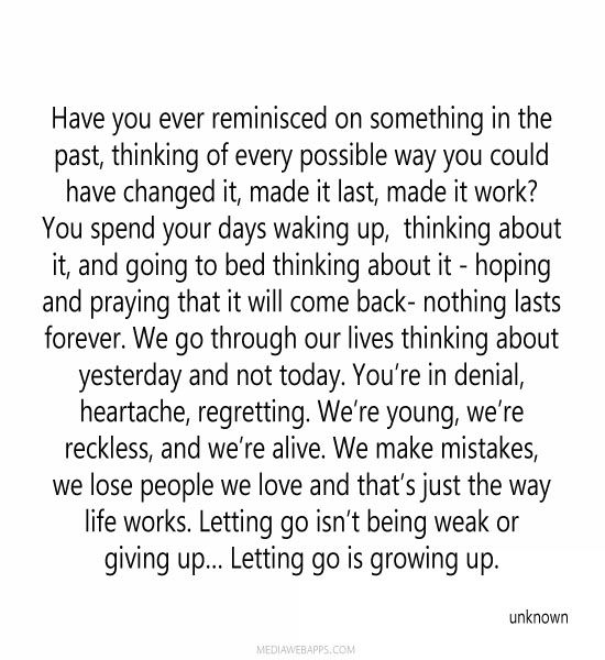 Letting Go Quotes About Giving Up On Someone You Love