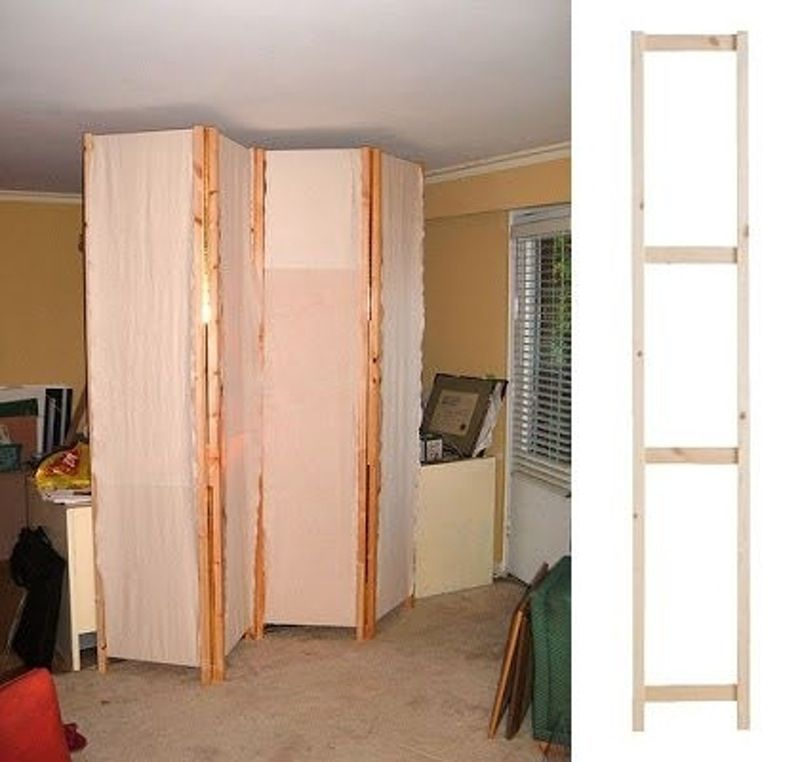 33 Room Divider 33 Ikea Hacks Anyone Can do Our
