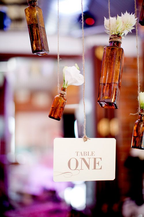 Hanging Vases Make It Pinterest Table Numbers Wedding And