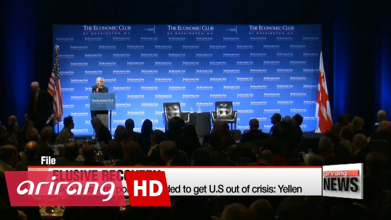 'High pressure' policies needed to get U.S out of crisis: Yellen