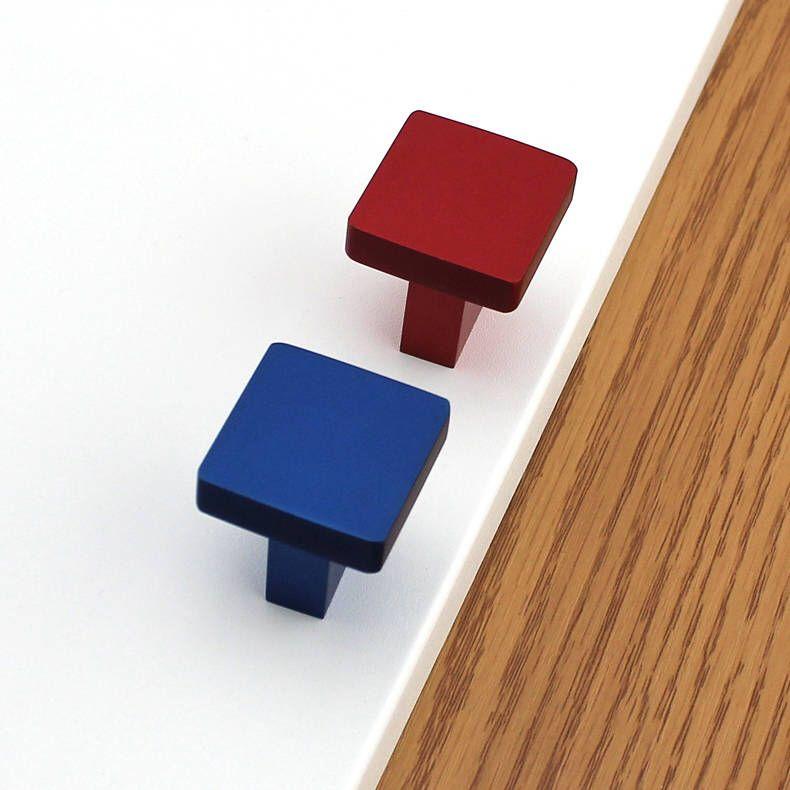 Colorful Knobs Modern Cabinet Knobs Drawer Knobs Door Knobs Dresser Knobs  Metal Knobs Decorative Furniture Hardware