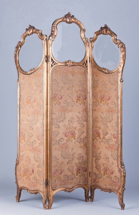 61 19th c French dressing room divider Lot 61 Craft Ideas