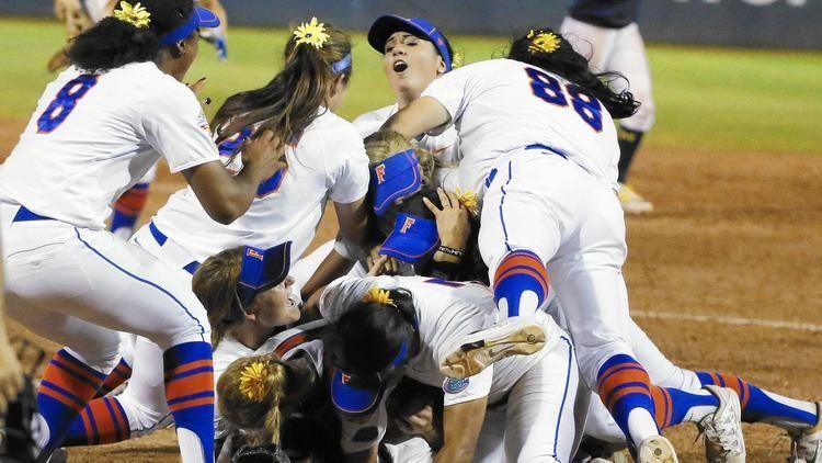 Florida beats Michigan 41 for NCAA softball title Ncaa