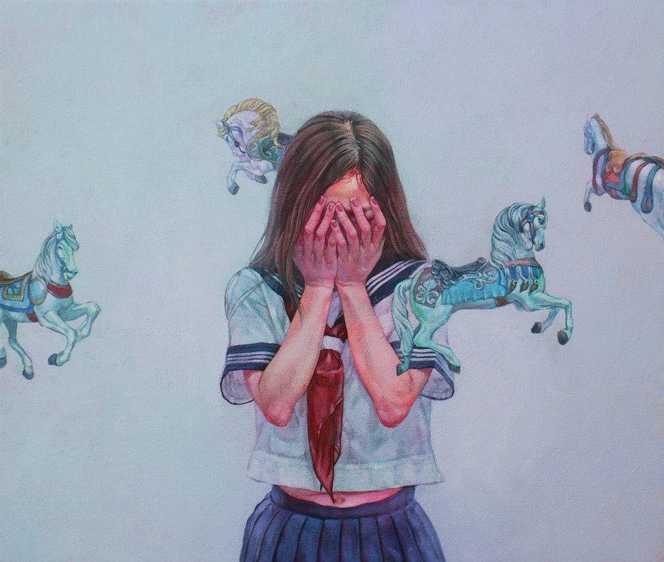 Candy-filled Morbid Paintings Kazuhiro Hori