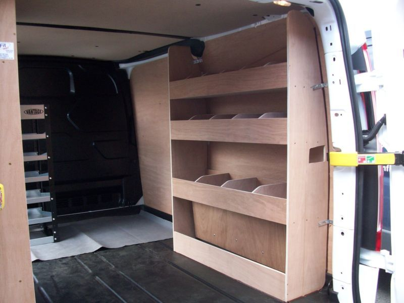 Details About Ford Transit Custom Van Racking Ply Shelving Swb Storage Accessories Van Racking Transit Custom Van Shelving