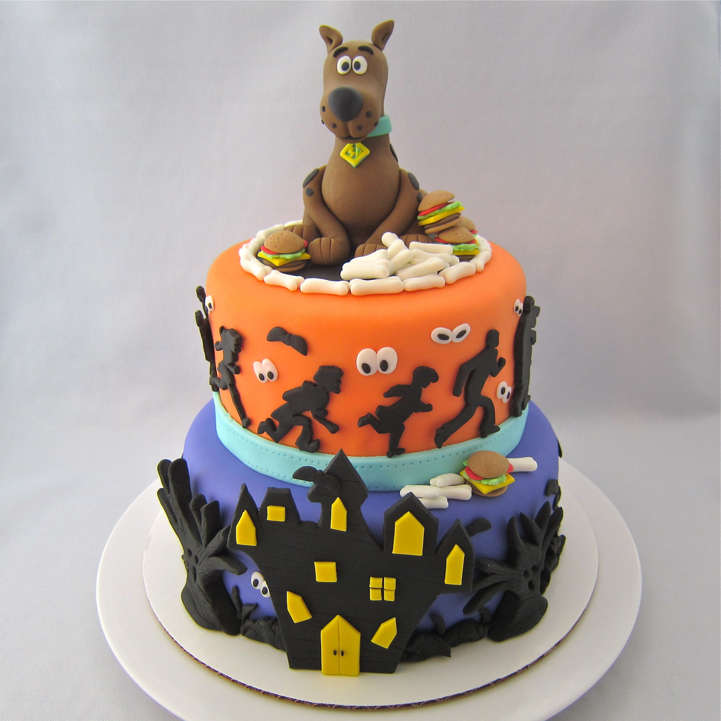 Scooby Doo Cake For Sweet 16 Birthday Party Scooby Doo