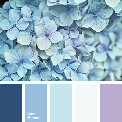 Blue Color Palettes Cold Shades Matching Palette For Interior