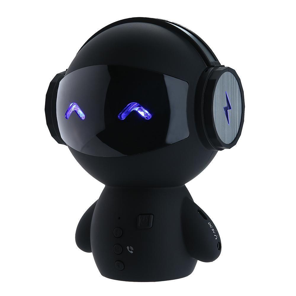 Cute Mini Robot Speaker Bluetooth Stereo Portable Speakers Price Noise