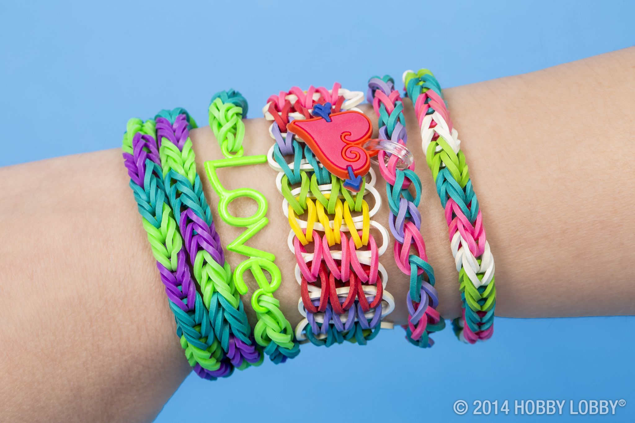 Add A Little Love To Your Rubber Band Designs With The Sweet Look Silly Bands