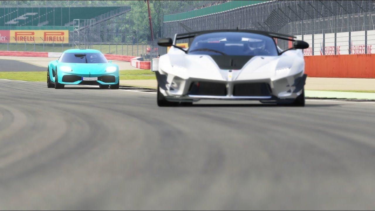 Koenigsegg Gemera vs Ferrari FXX K Evo at Silverstone