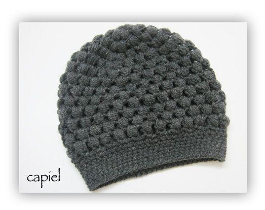 capiel: Mütze aus Puff Stitches | Love to have | Pinterest | Mütze ...