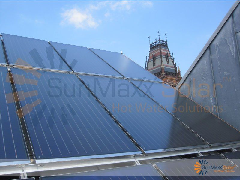 Commercial Flat Plate Solar Thermal Collector Image Gallery Solar Hot Water Heating Manufac Solar Hot Water Heating Solar Thermal Collector Solar Hot Water