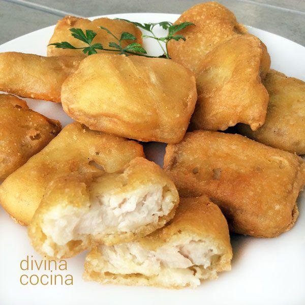 Receta de nuggets de pescado cocina nuggets de pescado pescado rebozado y pescado congelado - Cocinar pescado congelado ...