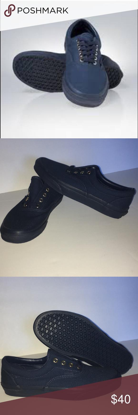 fa999cdb16 Vans Era (Gold Mono) Brand new in box! Vans Era (Gold Mono) Dress Blue Size  6.0 Men