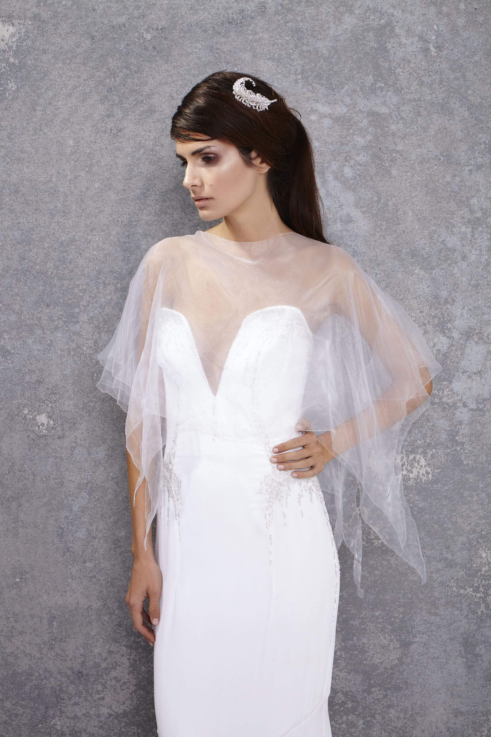 Gyunel bridal couture lookbook photoshoot
