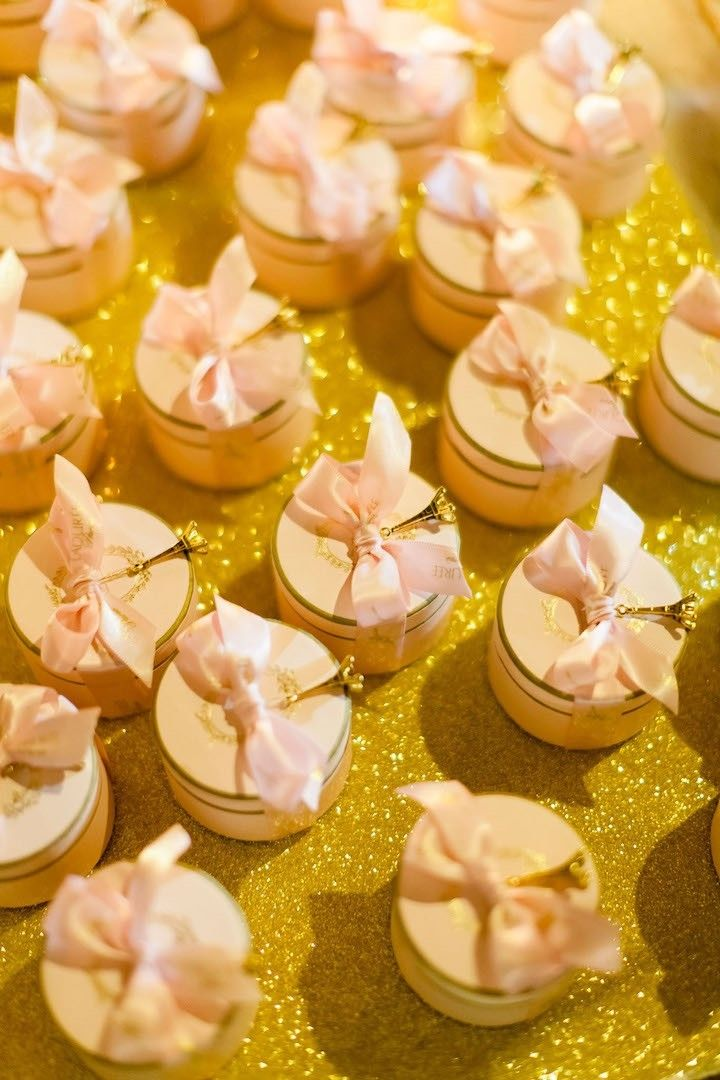 stunning laduree themed tuscany wedding wedding favors