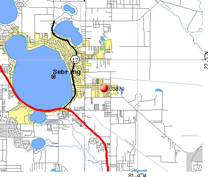 florida map sebring fl