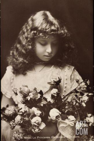 Ak S.A.R. Madame La Princesse Geneviève D'Orleans Photographic Print