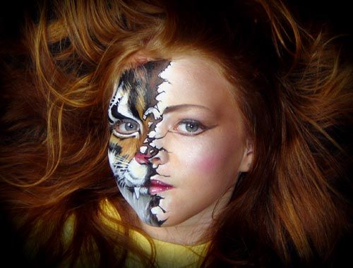Face Painting Designs For Kids Bodies Paint Face Body Painting Ideas For Different Sporting Events Animal Makeup Body Painting Face Painting Designs