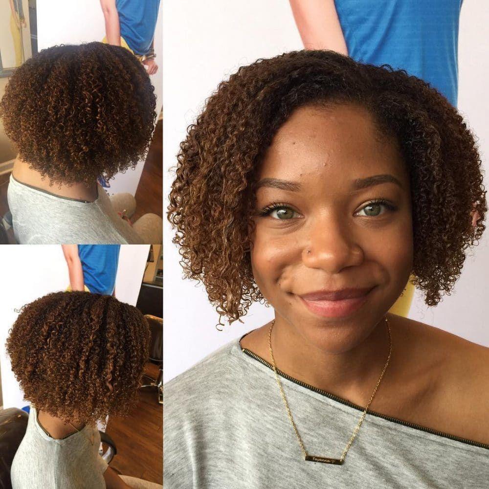 Hairstyles For Medium Length Natural Black Hair Aesthetic 17