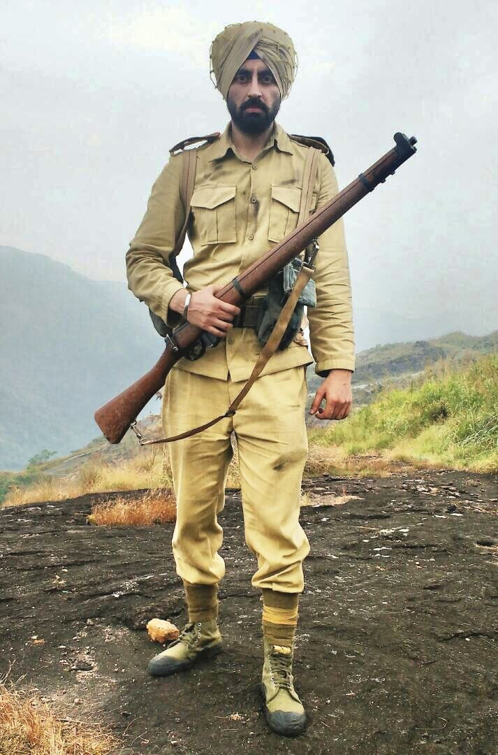 sikh soldier ina freedom fighter vintage pics sikh soldier