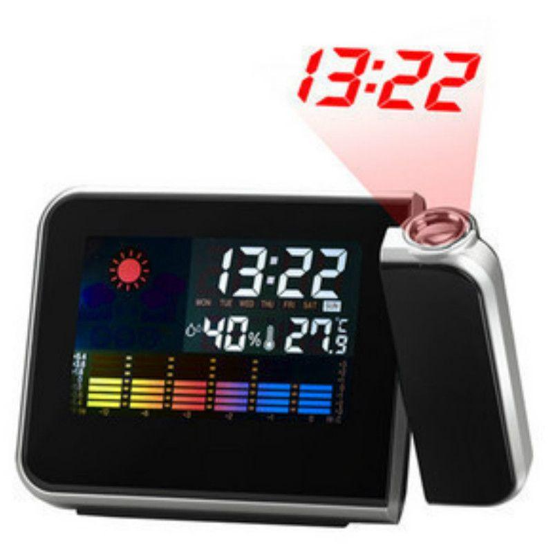 Weather Forecast Projection Luminous Clock Control LED