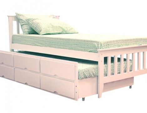 Galvin Single Bed With Pull Out Bed Mandaue Foam Cool Rooms