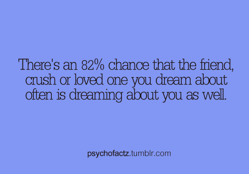 What does it mean when you dream of your friend dating your crush