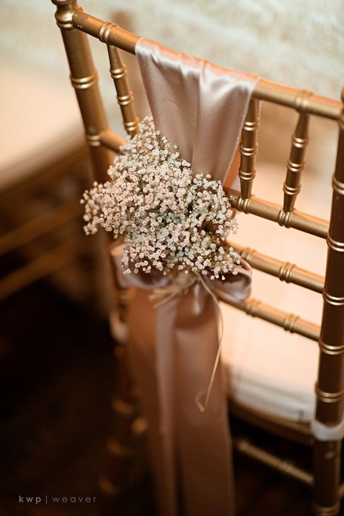 A Chair Affair Gold Chiavari Chair Wedding Chairs Baby S Breath
