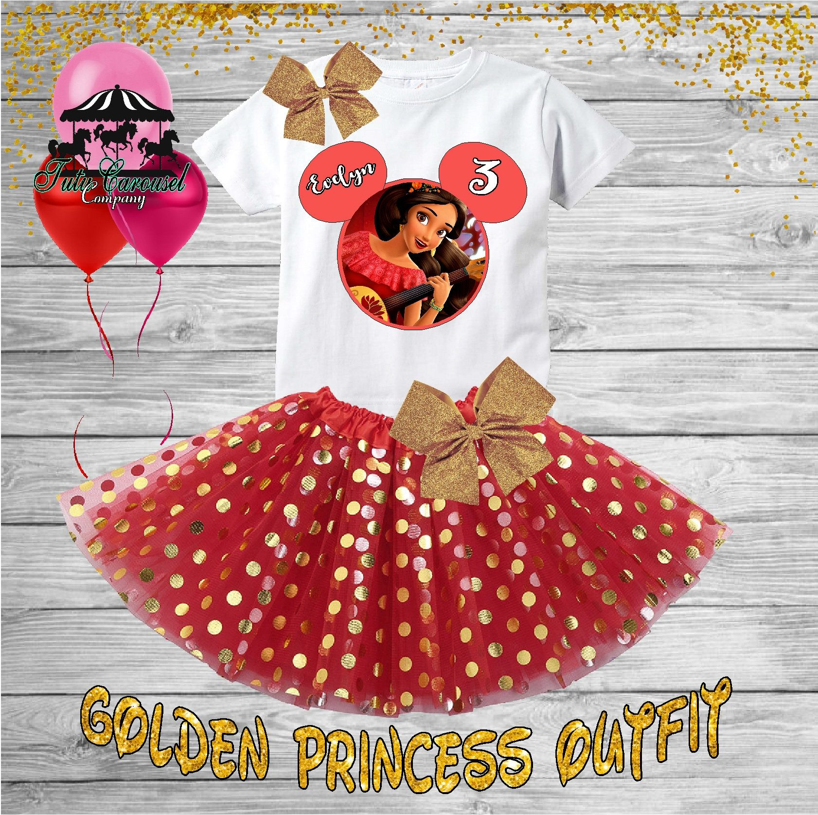 3rd Birthday Tutu Outfit Elena Of Avalor Birthday Outfit Birthday Shirt Tutu Set Gt581 Tutu Outfits Birthday Tutu Outfit Birthday Outfit
