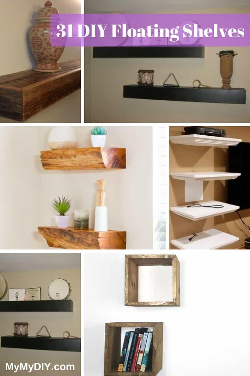 31 floating shelf plans ranked fireplace cabinet built in rh pinterest com